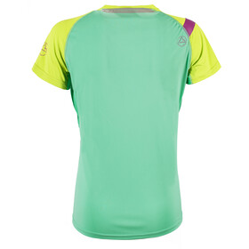 La Sportiva Move T-Shirt Women Jade Green/Apple Green